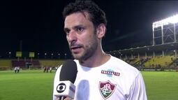 """Fred celebra triunfo no clássico contra o Botafogo: """"Temos que valorizar essa vitória"""""""