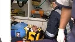 Ciclista sofre acidente na Serra do Japi e é resgatado por helicóptero em Cabreúva