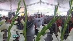 Fiéis lotam Convento de São Félix para as últimas homenagens a Frei Damião