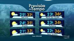 Veja como fica o tempo nesta terça-feira (31), em todo o Maranhão
