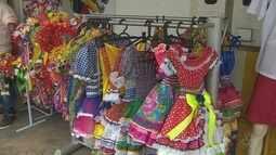 Em Macapá, lojistas apostam em artigos juninos para aumentar lucro
