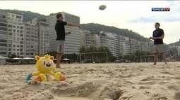 Estrelas do Rugby da Nova Zelândia visitam o Rio