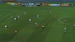 Confira os melhores momentos entre Vila Nova 0 x 0 Paraná
