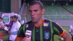 Adalberto diz compensou erros de jogos passados contra o Coritiba