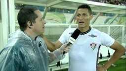Richarlison fala sobre primeiro gol marcado pelo Fluminense