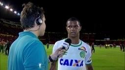 Bruno Rangel afirma que Chapecoense não pode errar tanto numa partida