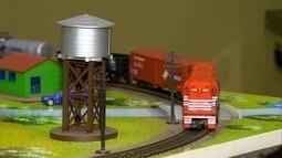 Fábrica de Ribeirão Preto produz perfeitas miniaturas de trens