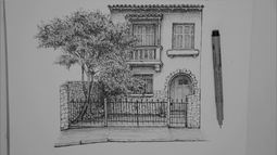 Casinhas em SP resistem à expansão imobiliária e são eternizadas por artista