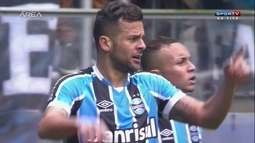 Grêmio vence Figueirense com gol no final em partida com bom público na Arena