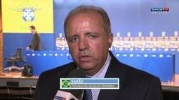 Vadão comenta convocação da seleção brasileira feminina de futebol