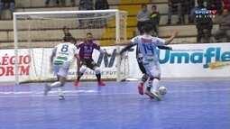 Os gols de Umuarama 1 x 1 Corinthians pela Liga Nacional de Futsal