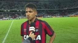 Giovanny fala sobre chances desperdiçadas contra o Vitória