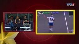 """Andreoli cita Ronaldinho na Índia, em jogo de futsal: """"Passando o chapéu"""""""