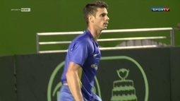 Brasil elimina o Equador na Davis, e Rogerinho comemora vaga nos Jogos do Rio