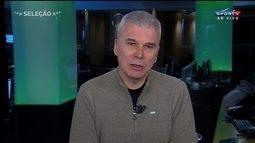 Maurício Saraiva diz que Inter tentou mudar estilo de jogo contra o Palmeiras