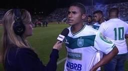 """Michel acredita que Gama foi melhor que Santos: """"Tivemos mais chances de gol do que eles"""""""