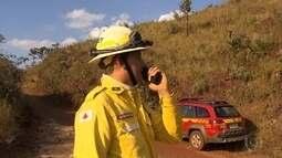 Período seco deixa Corpo de Bombeiros e técnicos da Cemig em alerta