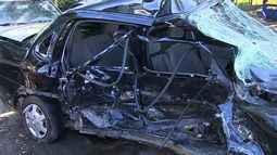 Três pessoas morrem em acidente na BR-235 em Itabaiana