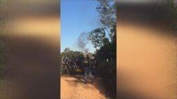 Secretaria de segurança discute possível acordo com invasores de fazenda em Seringueiras