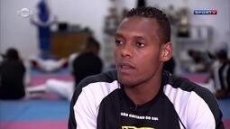 Com chute potente, Maicon Andrade é esperança brasileira do taekwondo na Olimpíada
