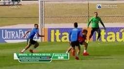 Seleção brasileira completa uma semana de trabalho na Granja Comary com saldo positivo