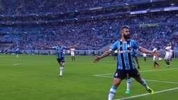 O gol de Grêmio 1 x 0 São Paulo pela 16ª rodada do Brasileirão 2016