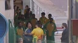Africanos desembarcam em Brasília para jogo contra o Brasil na Olimpíada