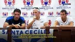Nadadores Italianos treinam em Santos e podem seguir na cidade caso a Vila Olímpica ainda não estiver pronta
