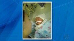 Bebê de 10 dias precisa de transplante de intestino para se alimentar em Campo Grande