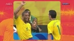Sombra do Ouro: Relembre a campanha do Brasil no futebol nas Olimpíadas de 2008