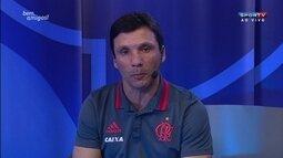 Zé Ricardo aposta em crescimento do Flamengo e destaca coletivo