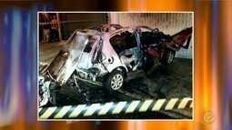 Polícia investiga explosão que danificou veículo em Jaú