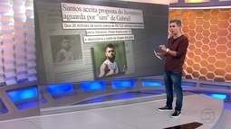 """Santos aceita proposta do Juventus e aguarda """"sim"""" de Gabriel para negociação de valores"""