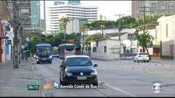 Conde da Boa Vista no Recife tem trecho interditado