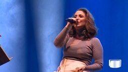 Show da cantora Maria Rita animou o Parque da Cidade