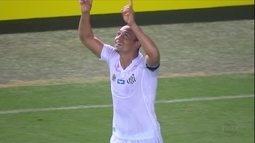 Santos vence o Gama com show de Ricardo Oliveira