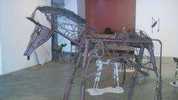 Exposição Metalmorfose mostra que sucata pode ser tranformada em arte
