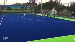 Brasil perde para Holanda em amistoso de hóquei sobre grama antes da Rio 2016