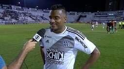 Reinaldo comemora gol marcado e diz que treina com os atacantes