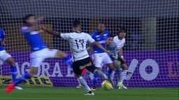 Os gols de Corinthians 1 x 1 Cruzeiro pela 19ª rodada do Campeonato Brasileiro