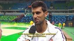 Novak Djokovic elogia equipe americana de basquete