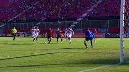 Os gols de Vitória 2 x 2 Santa Cruz pela 20ª rodada do Brasileirão