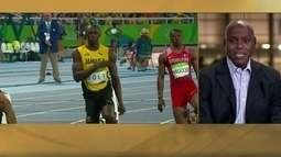 Carl Lewis comenta riso de Bolt e Sotomayor fala de marketing pessoal