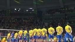 Torcedores brasileiros vibram com ouro do vôlei masculino