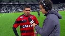 Diego Renan fala que derrota para o Corinthians é dolorida