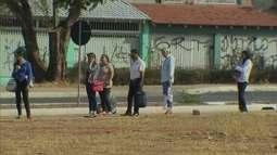 Redação Móvel cobra paradas de ônibus no Setor Central do Gama