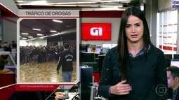 G1 em 1 Minuto: operação contra o tráfico de drogas prende 29 pessoas