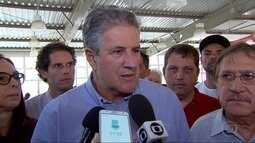 Candidato à Prefeitura de Belo Horizonte João Leite (PSDB) faz campanha no Barreiro