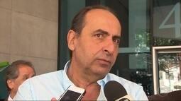Alexandre Kalil, candidato à Prefeitura de Belo Horizonte, se encontra com empresários