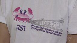 Santos se prepara para 6ª Caminhada contra o Câncer Infanto Juvenil